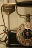 Retro candlestick phone — Stock Photo