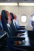 Airplane seats — Stock Photo