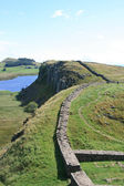 Hadrian's wall — Stock Photo