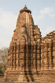 Erotic temples in Khajuraho — Stock Photo