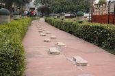 Mahatma Gandhi memorial in Delhi — Stock Photo