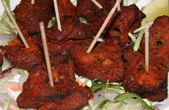 Indian kebab — Stock Photo