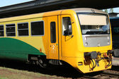 Railway train — Stock Photo