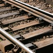 Stock Photo: Rail track