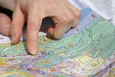 Travel planning — Stock Photo