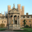 Trinity college, Cambridge — Stock Photo