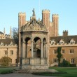 Trinity college, Cambridge — Stock Photo #2118994