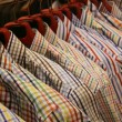 Stock Photo: Clothes rack