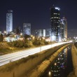 Ramat-Gan at night — Stock Photo