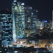 Tel aviv skyline - Night city — Stock Photo #1566100