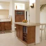 Kitchen luxury design — Stock Photo