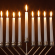 Stock Photo: Hanukkah Menorah / Hanukkah Candles