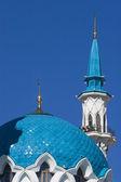 Qolsharif mosque minaret/ Kazan — Foto de Stock