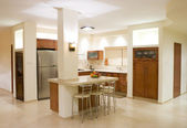 Kitchen luxury design — Foto Stock