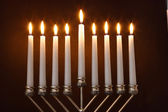 Hanukkah Menorah / Hanukkah Candles — 图库照片