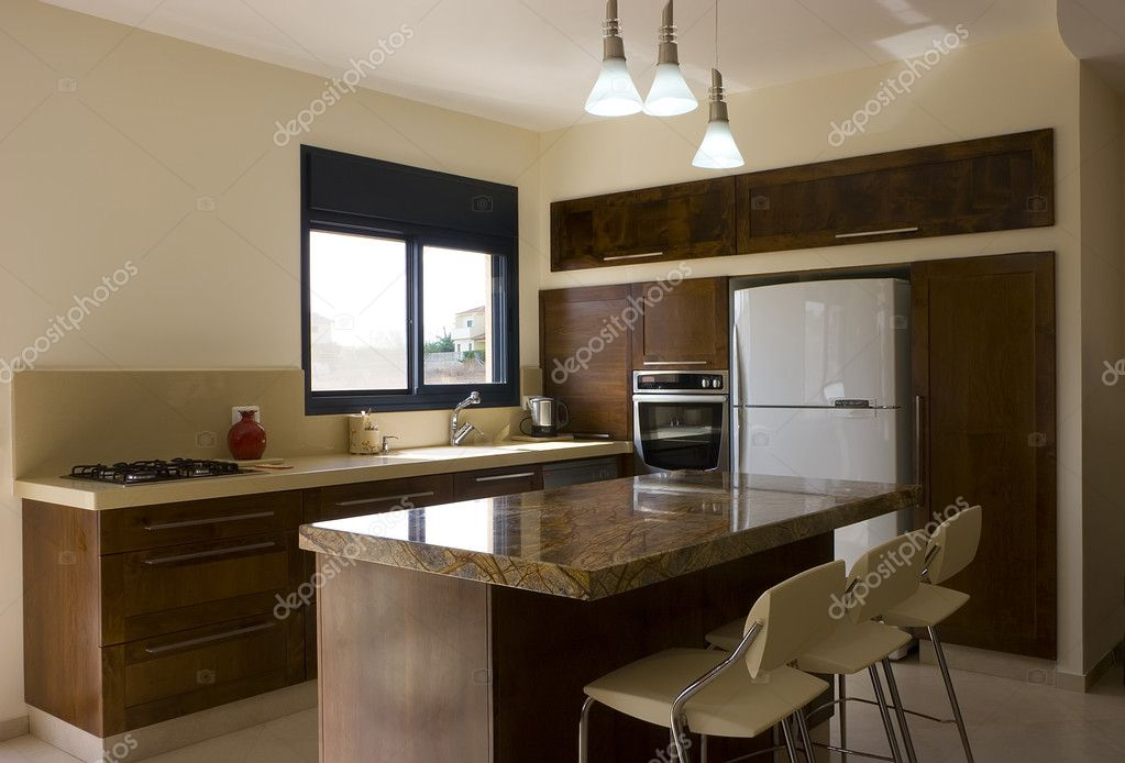 Modern kitchen   Stock Photo #1566530