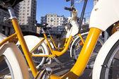 Milan bicycles — Stock Photo