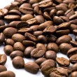 Royalty-Free Stock Photo: Dark Roasted coffee beans closeup