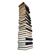 Tower from old books. — Stock Photo