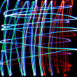Chaotic colorful lights — Stock Photo #1491751