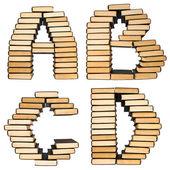 Abc de los libros. — Foto de Stock