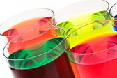 Glass with drink — Stock Photo