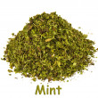 Spice - mint on white background. — Stock Photo #1563147