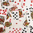 The image of playing cards - Stock Photo