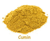 Spice - cumin on a white background. — Stock Photo