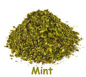 Spice - mint on a white background. — Stock Photo