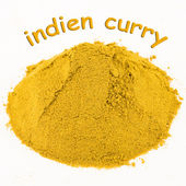Spice - indien curry — Stock Photo