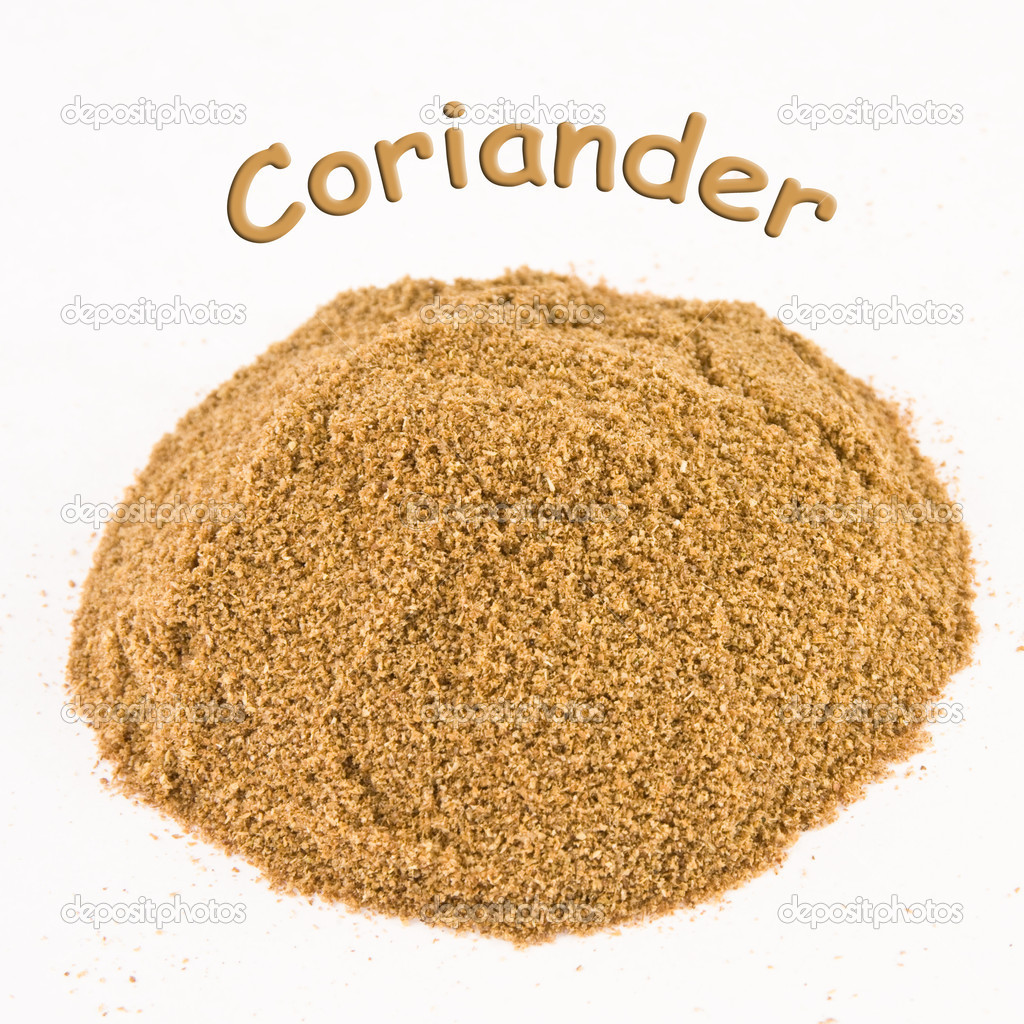 spice - coriander on