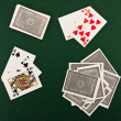 Stock Photo: The image of playing cards