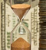 Tempo - dinheiro — Fotografia Stock