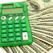 Money with calculator — Stock Photo #1404646