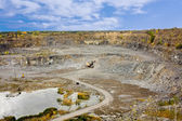 Stone quarry — Stock Photo