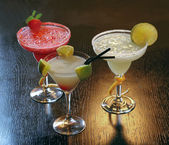 Nonalcoholic cocktails — Stock Photo