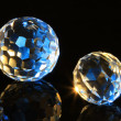 Stock Photo: Magic cut crystal spheres