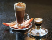 Café con alcohol — Foto de Stock