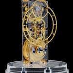 Zlatá mechanické hodiny — Stock fotografie