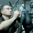 The sculptor - Stockfoto
