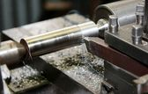 Metal processing — Stock Photo