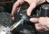 Procesamiento de metales — Foto de Stock