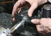 Metal processing — Stok fotoğraf