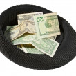 Small pile of money - Stock Photo