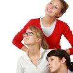 Three girlfriends — Stock Photo #1856825
