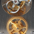 Photo: Mechanical clock