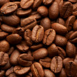 Coffe beans background, macro closeup — Stock Photo #1357206