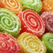 Background of colorful candies - Stock Photo