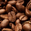 Coffe beans background, macro closeup — Stock Photo #1358315
